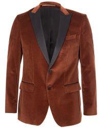 af27378dd BOSS Hugo Nold1 Cotton Blend Blazer in Blue for Men - Lyst