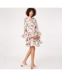 Club Monaco - Ladonda Silk Dress - Lyst