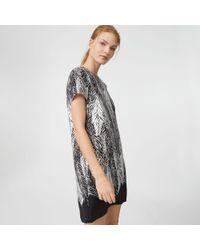 Club Monaco - Squelah Silk Dress - Lyst