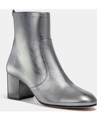 fa52d595b1cf6 Lyst - COACH Womens Jessie Closed Toe Ankle Fashion Boots in Gray