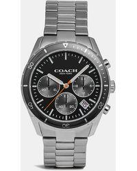 6c96f351d COACH Thompson Sport Chronograph Bracelet Watch in Metallic for Men - Lyst