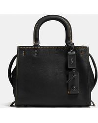 COACH - Rogue 25 In Glovetanned Pebble Leather - Lyst