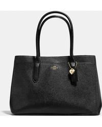 COACH - Bailey Carryall In Crossgrain Leather - Lyst