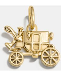 COACH - Carriage Charm - Lyst