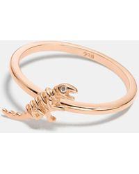 COACH - Mini Demi-fine Rexy Ring - Lyst