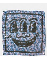 COACH | X Keith Haring Square Scarf | Lyst