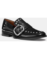COACH - Alexa Loafer With Studs - Lyst