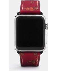 COACH - Apple Watch Strap With Prints - Lyst