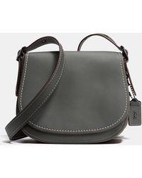 COACH | Saddle 23 Leather Cross-Body Bag | Lyst