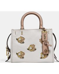 COACH - Rogue 25 With Rose Applique - Lyst