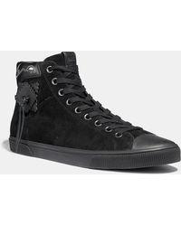 COACH - C220 High Top Sneaker - Lyst