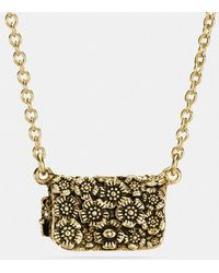 COACH - Dinky Necklace - Lyst