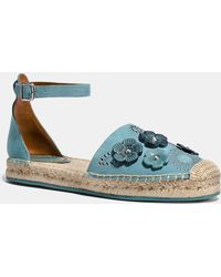 COACH - Ankle Strap Astor Espadrille With Tea Rose Rivets - Lyst