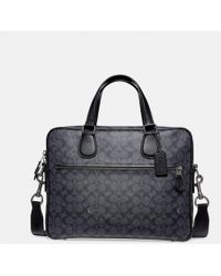 COACH - Hudson 5 Bag In Signature Coated Canvas - Lyst