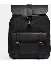 COACH - Bleecker Backpack In Pebbled Leather - Lyst