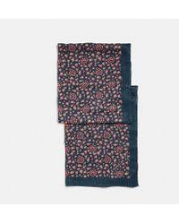 COACH - Love Floral Oblong - Lyst