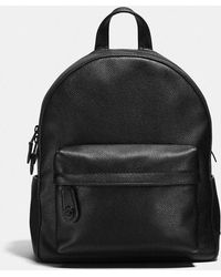 COACH   Campus Backpack In Polished Pebble Leather   Lyst