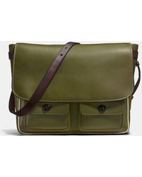 COACH - Mail Sac In Burnished Glovetanned Leather - Lyst