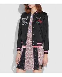 COACH - X Keith Haring Varsity Jacket - Lyst