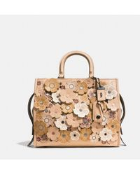 COACH | Rogue In Pebble Leather With Tea Rose | Lyst