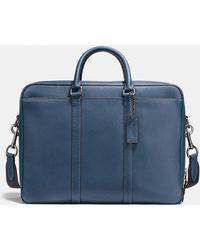 COACH - Metropolitan Double Zip Business Case - Lyst
