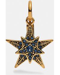 COACH Star Charm - Metallic