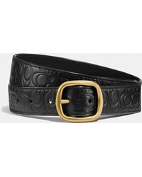 COACH - Classic Reversible Belt In Signtature Leather - Lyst
