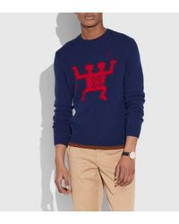 COACH - X Keith Haring Sweater - Lyst