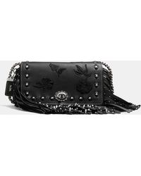 COACH - Dinky With Riveted Fringe - Lyst