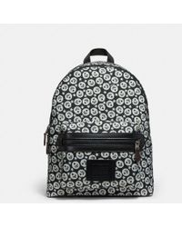 COACH - Academy Backpack In Cordura® Fabric With Chevron Star Print - Lyst
