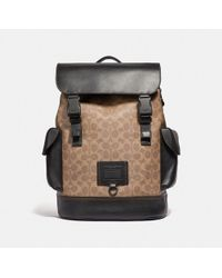 COACH - Rivington Backpack In Signature Canvas - Lyst