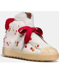 abc773c3679 Lyst - Women s COACH High-top sneakers On Sale