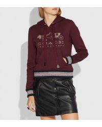 COACH - Rexy And Carriage Hoodie - Lyst