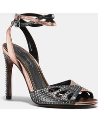 af32b3bc8149 Lyst - Women s COACH Stilettos and high heels On Sale