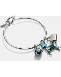 COACH - Uni Charm Collectible Hoop Bangle Set - Lyst