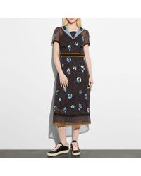 COACH - Wild Beast Nautical Dress - Lyst