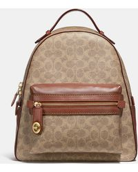 COACH - Campus Backpack In Signature Canvas - Lyst