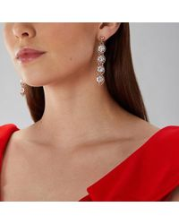 Coast - Rose Gold 'zuri' Sparkle Earrings - Lyst