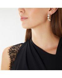 Coast - Leighton Hoop Earrings - Lyst