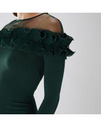 Coast - Francesca Ruffle Knit Dress - Lyst