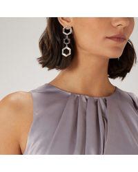 Coast - Cleo Hexagon Crystal Earrings - Lyst