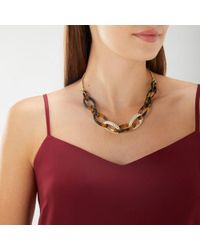 Coast - Nicki Tortoise Shell Necklace - Lyst