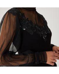 Coast - Janiya Embellished Knit Top - Lyst