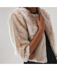 Coast - Lydia Faux Fur Jacket - Lyst