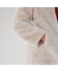 Coast - Zoie Faux Fur Coat - Lyst