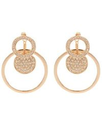 Coast - Rose Gold Sparkle 'sophie' Earrings - Lyst