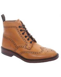 Loake Burford Boots - Brown