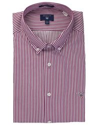 GANT - Tech Prep Twill Stripe Shirt - Lyst