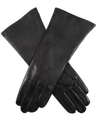 Dents - Helene Cashmere Lined Long Plain Leather Gloves - Lyst