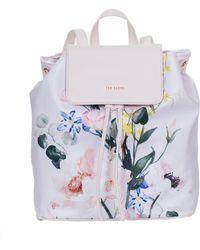 Ted Baker - Eloisse Elegant Nylon Drawstring Backpack - Lyst